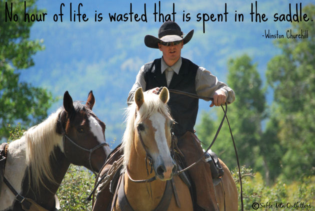 Blaine with quote-horseridingpage